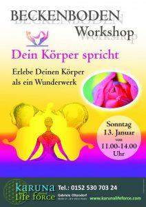 Yoga & Dein Körper spricht - Beckenboden @ Karuna Yoga Raum