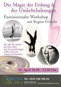 Workshop - Magie der Erdung und der Umkehrhaltung mit Regina Fritsche @ Karuna Yoga Raum