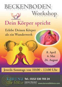 Yoga und Dein Beckenboden @ Karuna Yoga Raum