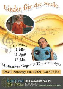Meditatives Singen mit Ayla @ Karuna Yoga Raum