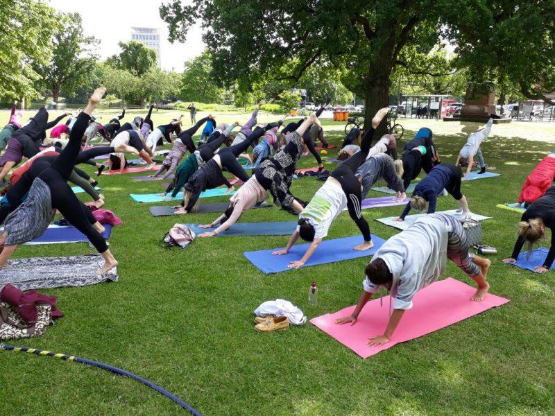 Internationaler Yoga Tag und wir sind dabei