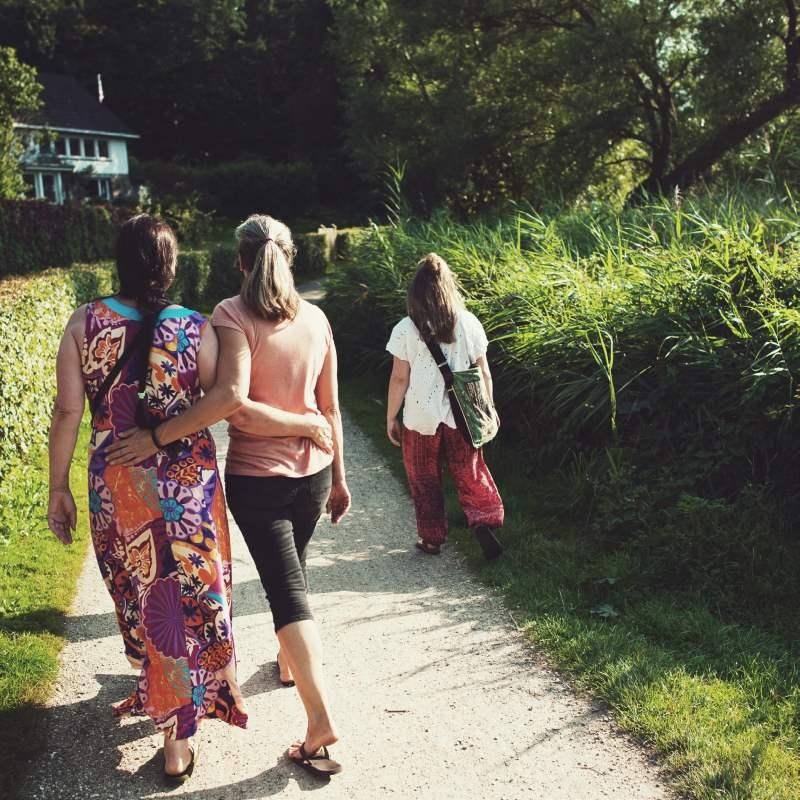 """Pilgerfahrt zum """"Herzweg des Friedens"""" in Berghausen"""