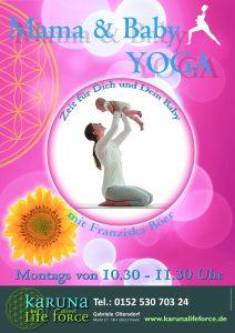 Mama & Baby Yoga @ Karuna Yoga Raum