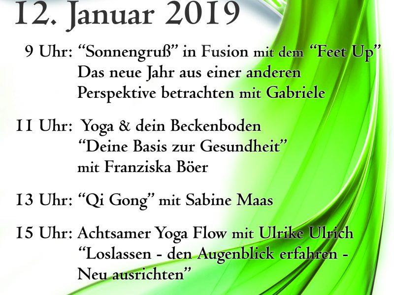 Geimeinsam sind wir eins – Preetz im Yoga Flow