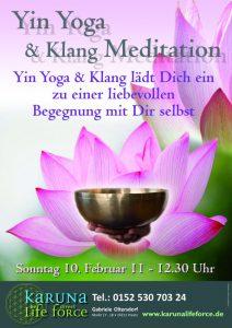 Yin Yoga Klang & Meditation
