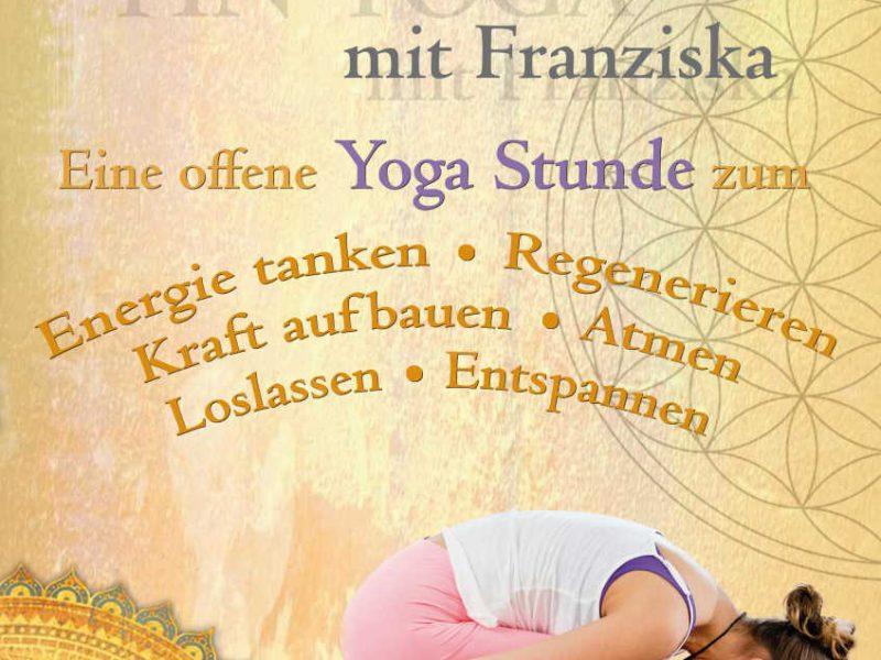 Yin Yoga mit Franziska