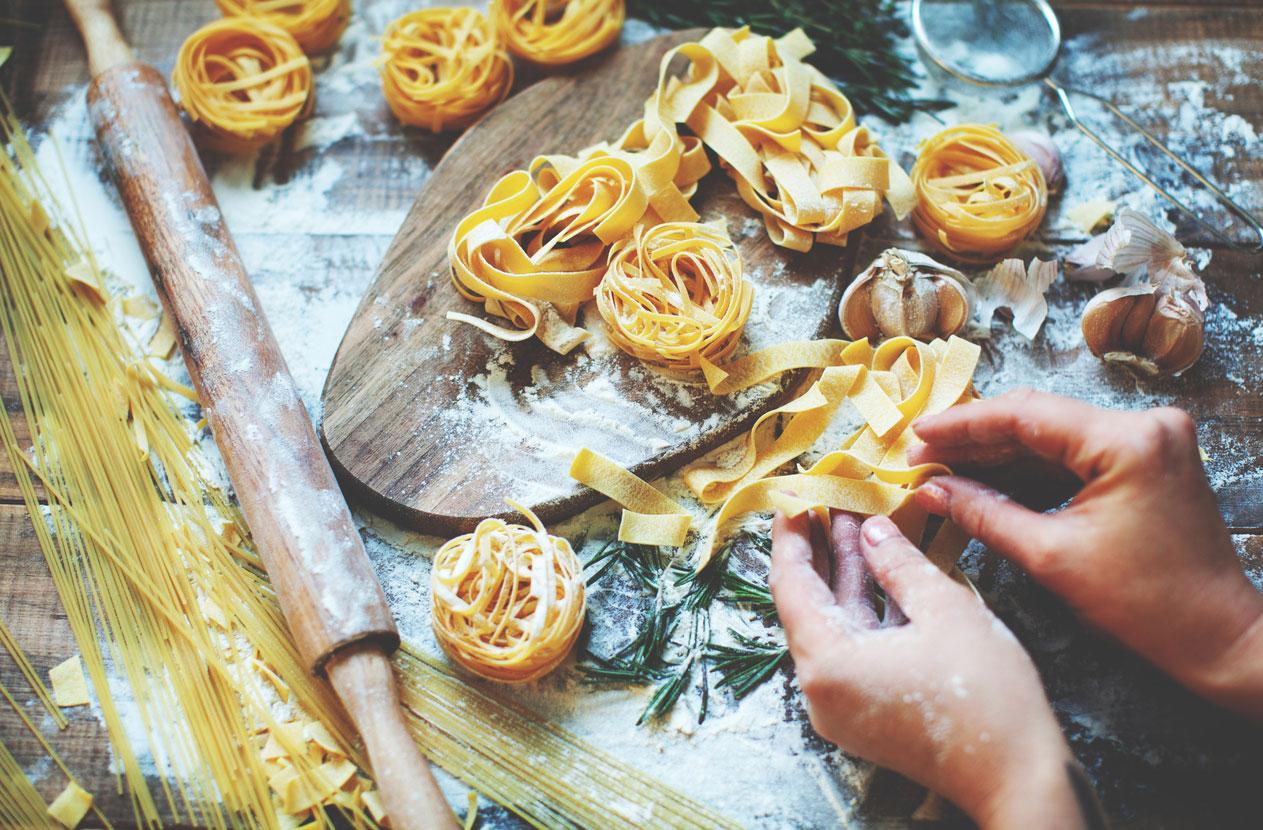Pasta Pasta Pasta – Kochen im Sinne des YOGA