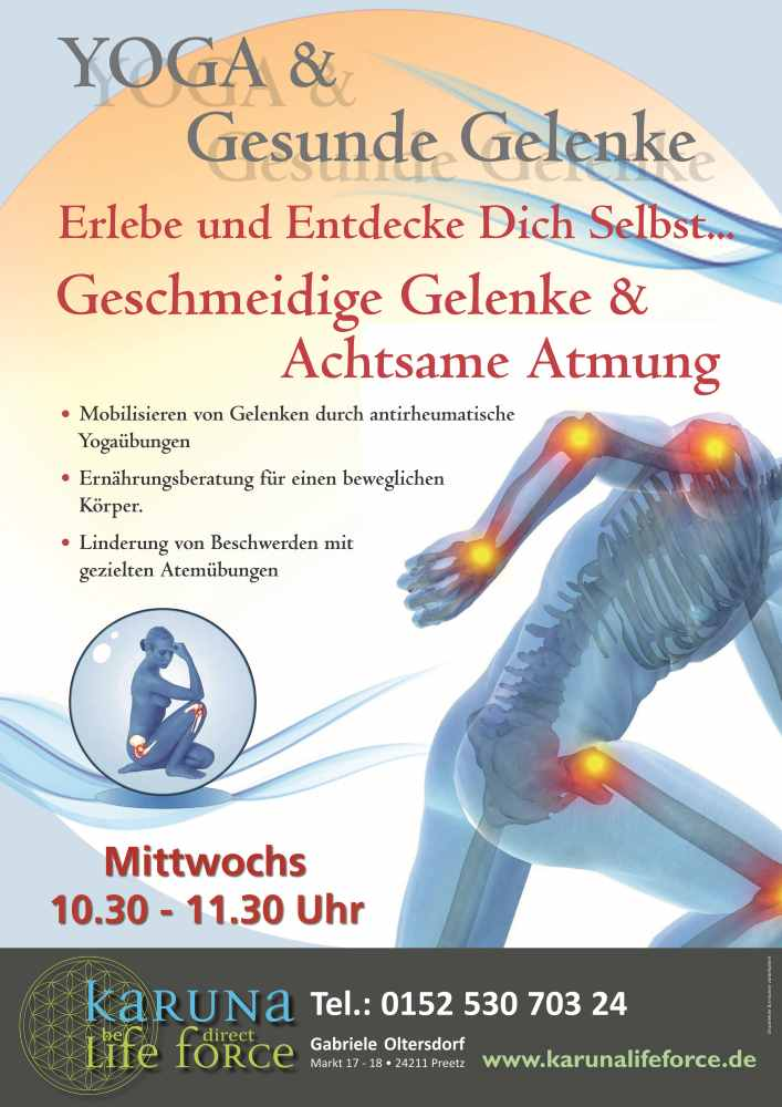 Yoga und Gelenke - Rheuma