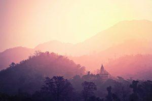 Indischer Tempel - tempel-rishikesh-indien-hindu-
