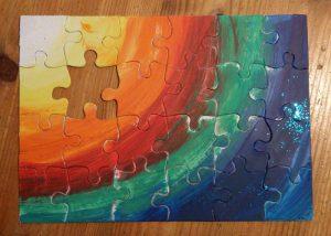 Puzzel, Neue Welt, Meditation