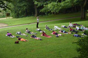Yoga im Wehrberg