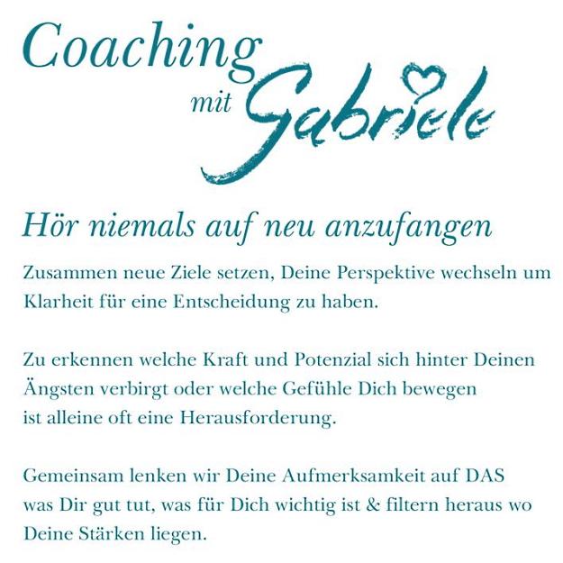 Coaching & Persönlichkeitsentwicklung mit Gabriele Oltersdorf